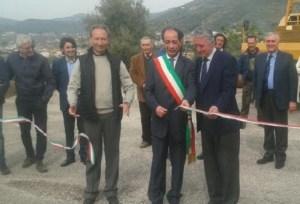 inaugurazione secondo pozzo, da sinistra: Clemente Affinita, Michele Nuzzo, Andrea Pirozzi, Alfonso Piscitelli, Carmine Palmieri, Vincenzo D'Anna.