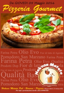 inaugurazione pizzeria gourmet