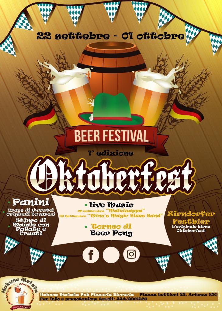 Realistic Oktoberfest Poster 02 Print