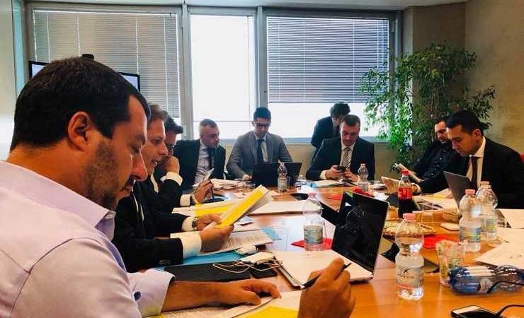 governo-m5s-lega-riunione-740x450