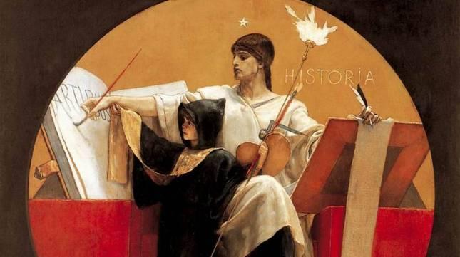 Nikolaos Gysis, Allegoria della storia, 1892.jpeg